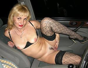 Favorite nude mature around car pics