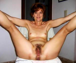 Amazing amateur mature small chest