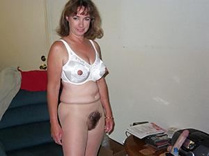 Unshaved mature column free ametuer porn