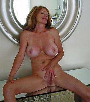 Nude busty full-grown female parent photos