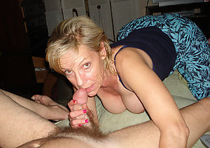 Mature wife giving husband blowjob sex pictures