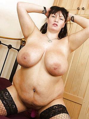 Amateur pics of older chubby slut wife