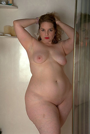 Handsome chubby mature nude