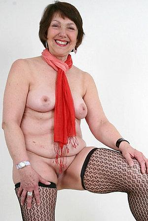 Favorite brunette naked older women