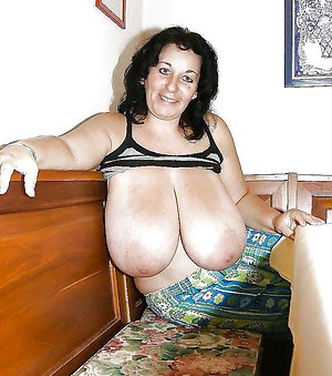 Magnificent nude mature brunettes