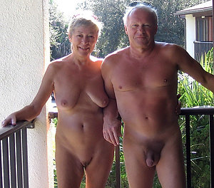 Nude mature couples making love
