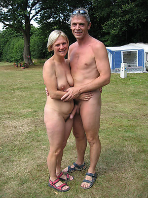 Hot mature couples showing off
