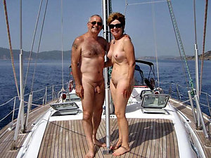 Sexy softcore naked older couples