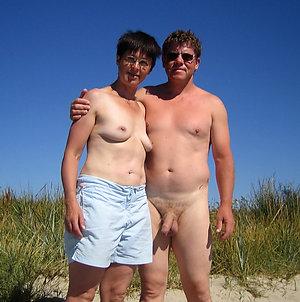 Naked older couple porn