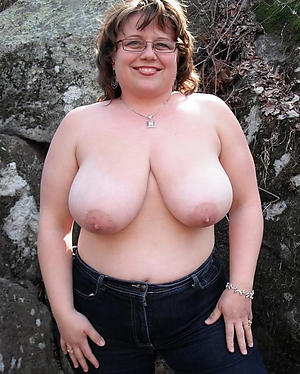 Amateur pics of horny busty mature