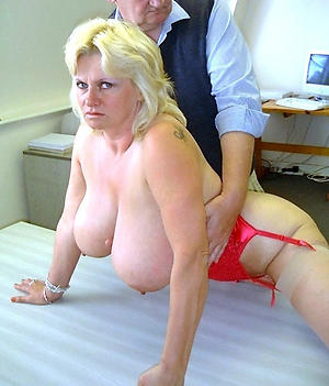 Naughty mature with big tits pics