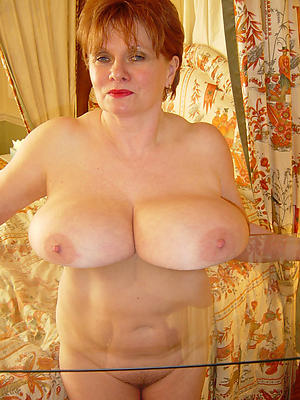 Nude grown-up with big tits photos