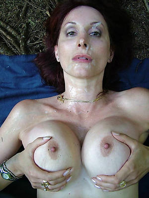 Amateur grown-up facial cumshots porn pics