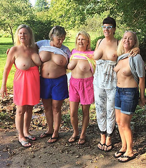 Amateur pics of mature group