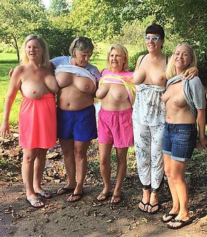 Amateur pics of mature group
