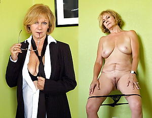 Decayed mature before and after porn pics