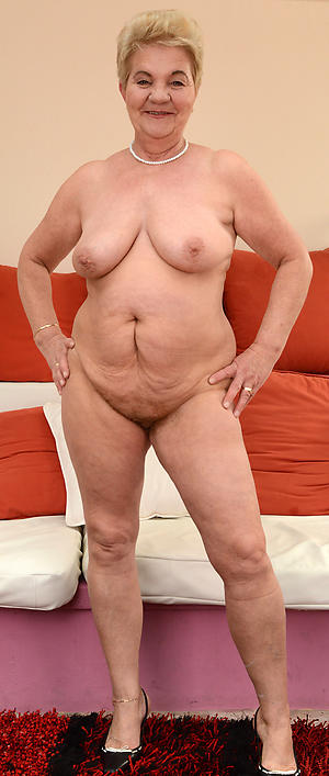 Hot porn of free in one's birthday suit grandmothers
