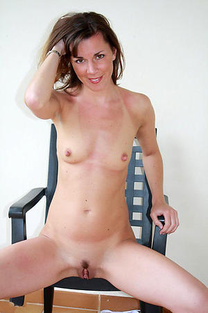 Really women with small tits