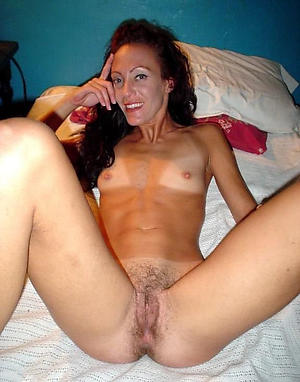 Naughty mature women in the air small tits