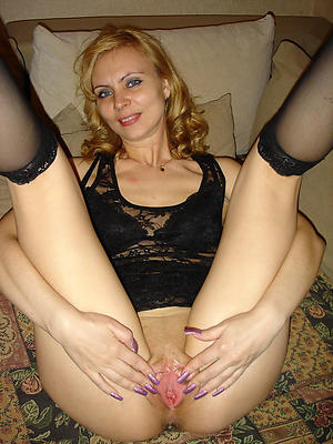 Slutty mature shaved pussies nude pic