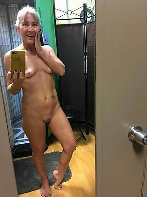 Naughty mere mature selfies
