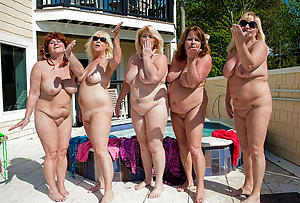 Amateur pics of mature group orgy