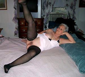 Spectacular british amateur granny naked pics