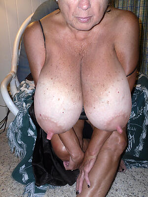 Nude mature women with huge nipples pics