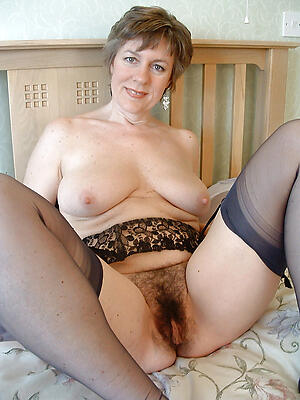 Pretty unshaved full-grown pussy free naked photo