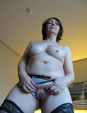 Unskilled pics of horny hot mature battle-axe