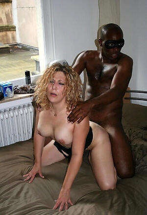 Amateur pics be fitting of sexy older interracial couples