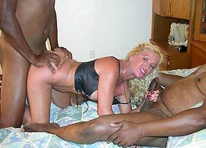 Sexy mature interracial milf slut pics