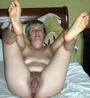 Naughty mature female feet porn photos
