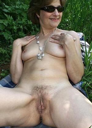 Naughty mature natural nude women