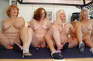 Slutty mature group sex launching run