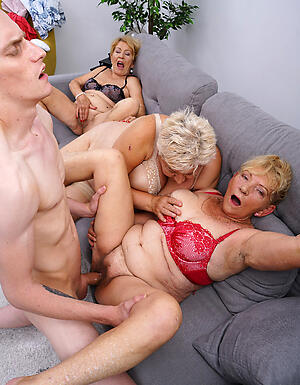 Amateur matured group be wild about slut pics