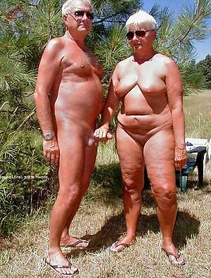 Naughty undisguised elderly couples