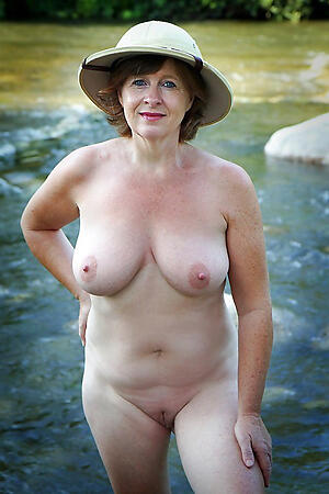 Beautiful mature nude beach