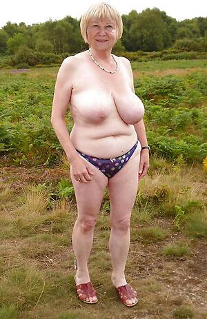 Pretty hot mature granny