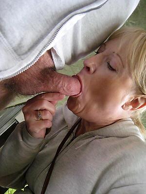 Amateur pics be fitting of hot matured blowjob