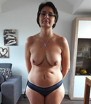Gorgeous mature panty flick