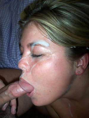 Inexperienced real wife cumshots