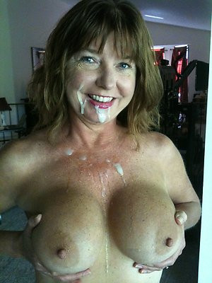 Homemade mature big tits cumshot photo