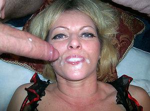 Sweet mature oral cumshot photo