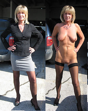 Free mature ladies dressed and undressed