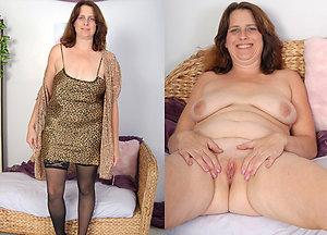 Xxx mature dressed undressed images