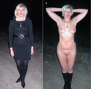 Favorite dressed undressed older girls pics