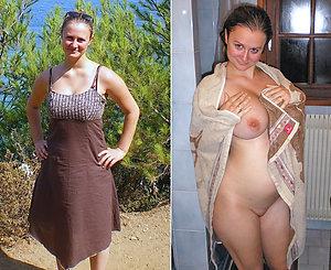 Xxx dressed then undressed pics