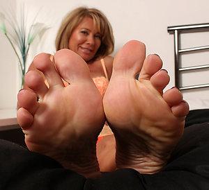 Slutty older womens sexy feet