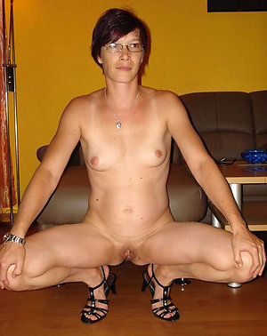 Favorite horny sexy mature wife with glasses
